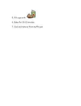 Apple Pie muffin cups-visual recipe