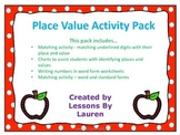 Place Value- Standard form, Word form, Places, Values