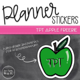 Apple Planner Sticker Freebie