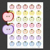Apple Planner Stickers - Printable Planner Stickers, Teach