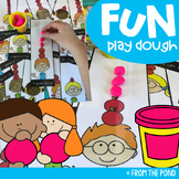 Addition Apple Play Dough Activity Mats