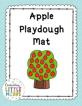 Apple Playdough Mat