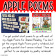 Apple Poem Pocket Charts! 10 Apple Poems for Shared Reading Pocket Chart Version