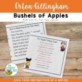 Poetry for September Fluency Practice ~Apple Poetry~