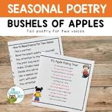 Apple Poems for Fluency Practice