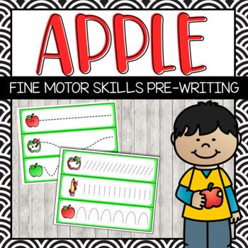 Apple Pre-Writing Practice