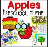 Apple Preschool and PreK Literacy and Math Pack