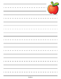Apple Primary Lined Paper