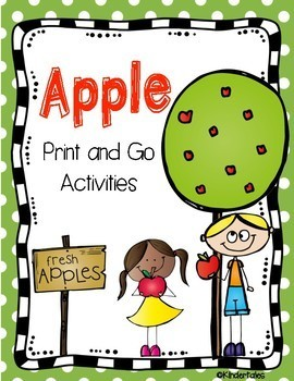 Apple: Print and Go Activities