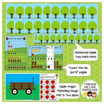 Apple Printable Activities for Preschool and Kindergarten