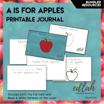 Apple Printable Journal