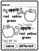 Apple Printables and Worksheets - PreK, Kindergarten, Preschool, Pre-K