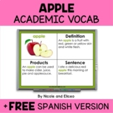 Apple Projectable Academic Vocabulary