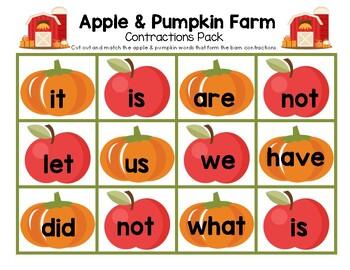 Apple & Pumpkin Farm Contractions Pack