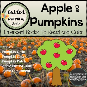 Apple & Pumpkin Themed Sight Word Readers