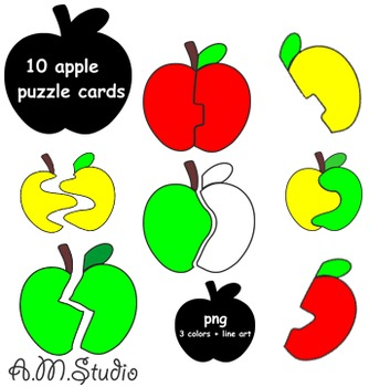 Apple Puzzle Cards