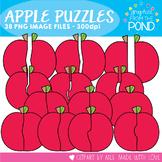 Apple Puzzles Clipart