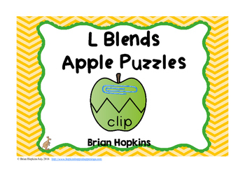 Apple Puzzles L Blends