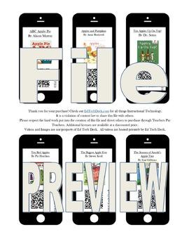 Apple QR Code Set- NO YOUTUBE- eBook Read Aloud Videos