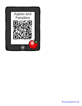 Apple QR Codes Freebie