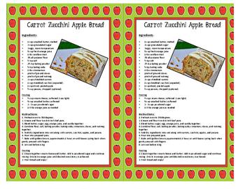 Apple Recipe Book