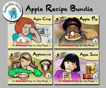 Apple Recipes Bundle - Animated Step-by-Steps® - SymbolStix