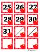 Apple Red Polka Dot Calendar Cover Set