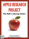 Apples: A Research and Writing Project PLUS Centers!