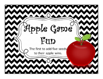 Apple Review Game - animated interactive powerpoint game for any grade subject