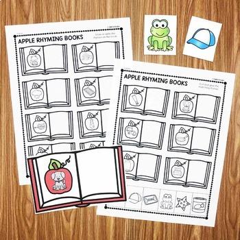 Apple Rhyming Book - First Quarter Smart Center