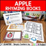 Apple Rhyming Center - Kindergarten Center - Simply Centers