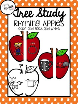 Apple Rhyming Cards