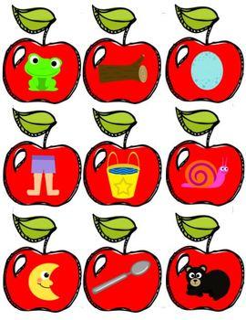 Apple Rhyming Game