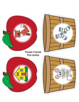Apple Rhyming Match