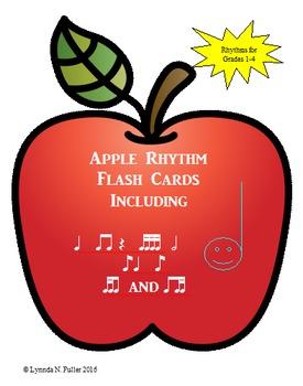 Apple Rhythm Flash Cards