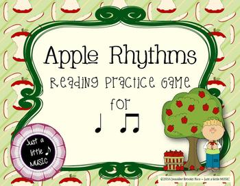 Apple Rhythms - Interactive Reading Practice Game {ta titi}
