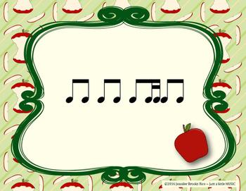 Apple Rhythms - Interactive Reading Practice Game {ti tika}