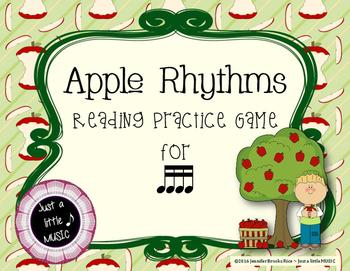 Apple Rhythms - Interactive Reading Practice Game {tika tika}