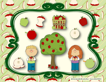 Apple Rhythms - Interactive Reading Practice Game {tom ti}