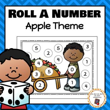 Apple Roll A Number 0-20