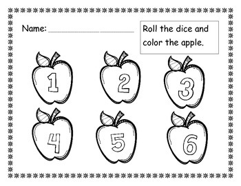 Apple Roll and Color