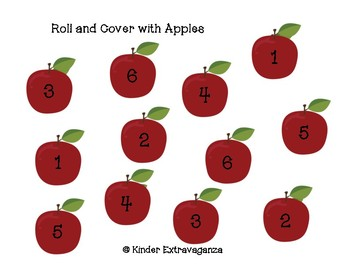 Roll and Cover with Apples