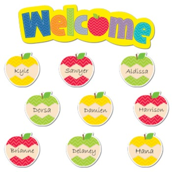 Apple Room - Welcome an A-peel-ing New Bunch of Students