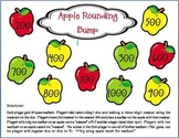 Apple Rounding Bump Game: TEKS 3.4b and CCSS 3.NBT.A.1