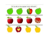 Apple & Autumn basic skills SMART notebook for Autism and