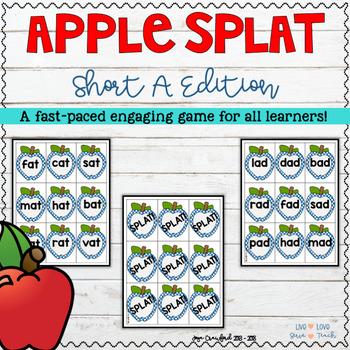 "Apple SPLAT!: A Short ""A"" Rhyming Game"
