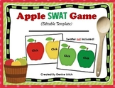 Apple SWAT Game  (Editable Template (Blank) Version)