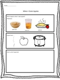 Apple Sauce Experiment Worksheet