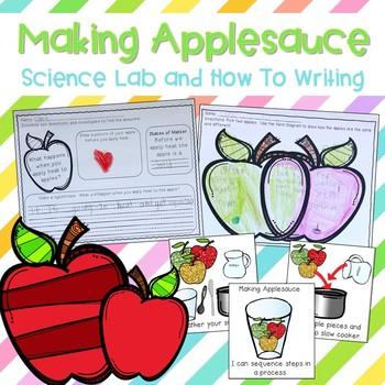 Making Applesauce Investigation {States of Matter}