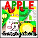 Apple Science - Apple Investigation - Exploration -Apple STEM